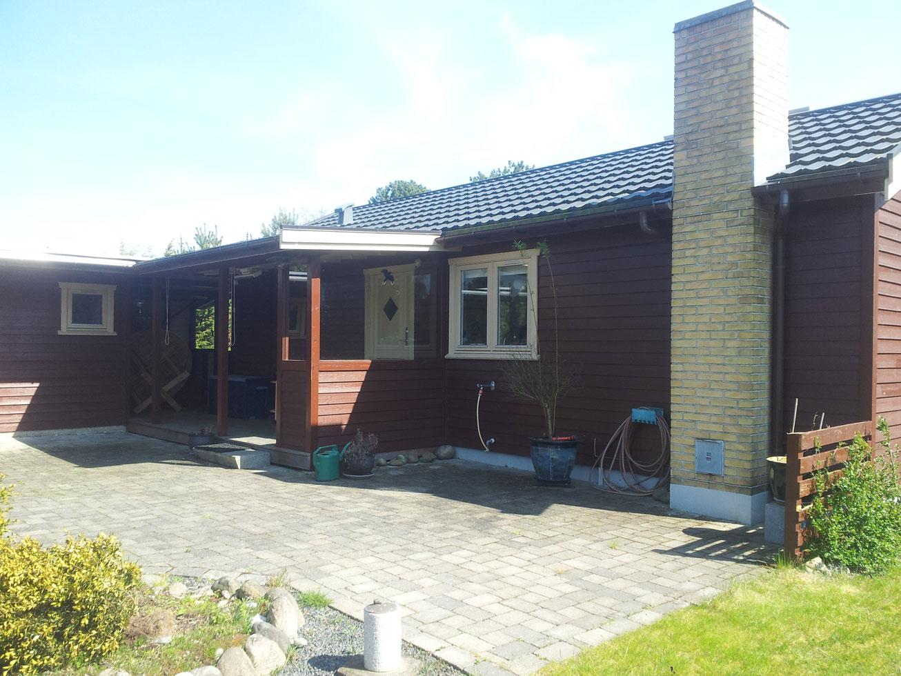 Sommerhus før